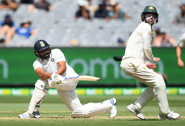 Rohit Sharma scored 63* at MCG | Getty Images