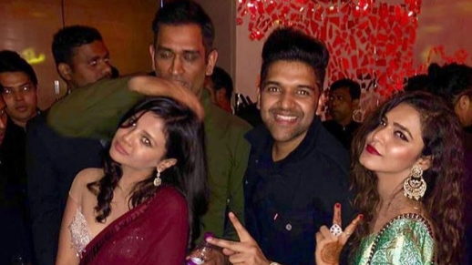 PICS: MS Dhoni attends sangeet ceremony of Sakshi's friend Poorna Patel in Mumbai