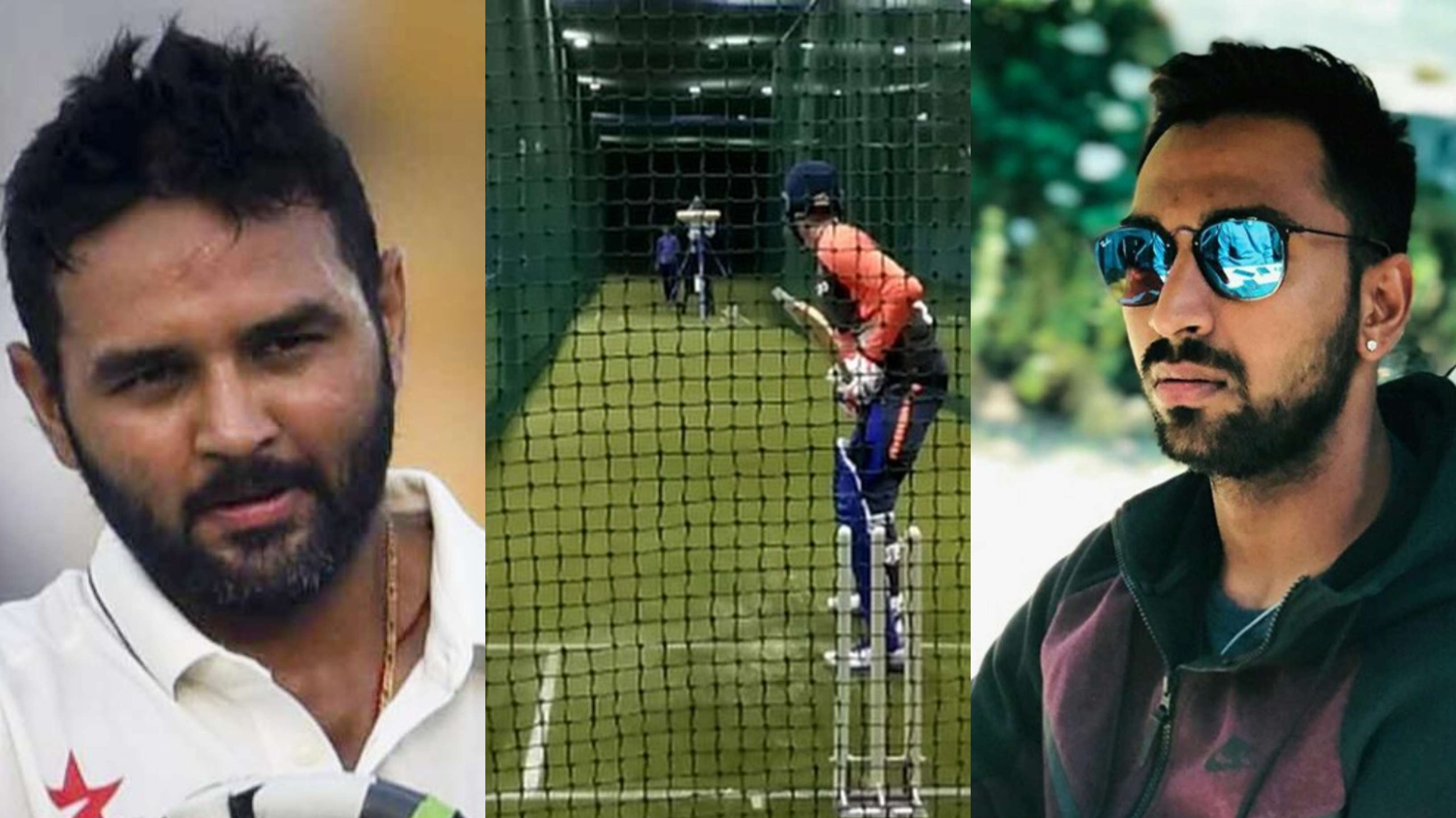 WATCH: Krunal Pandya's powerful hits in net session amazes Parthiv Patel