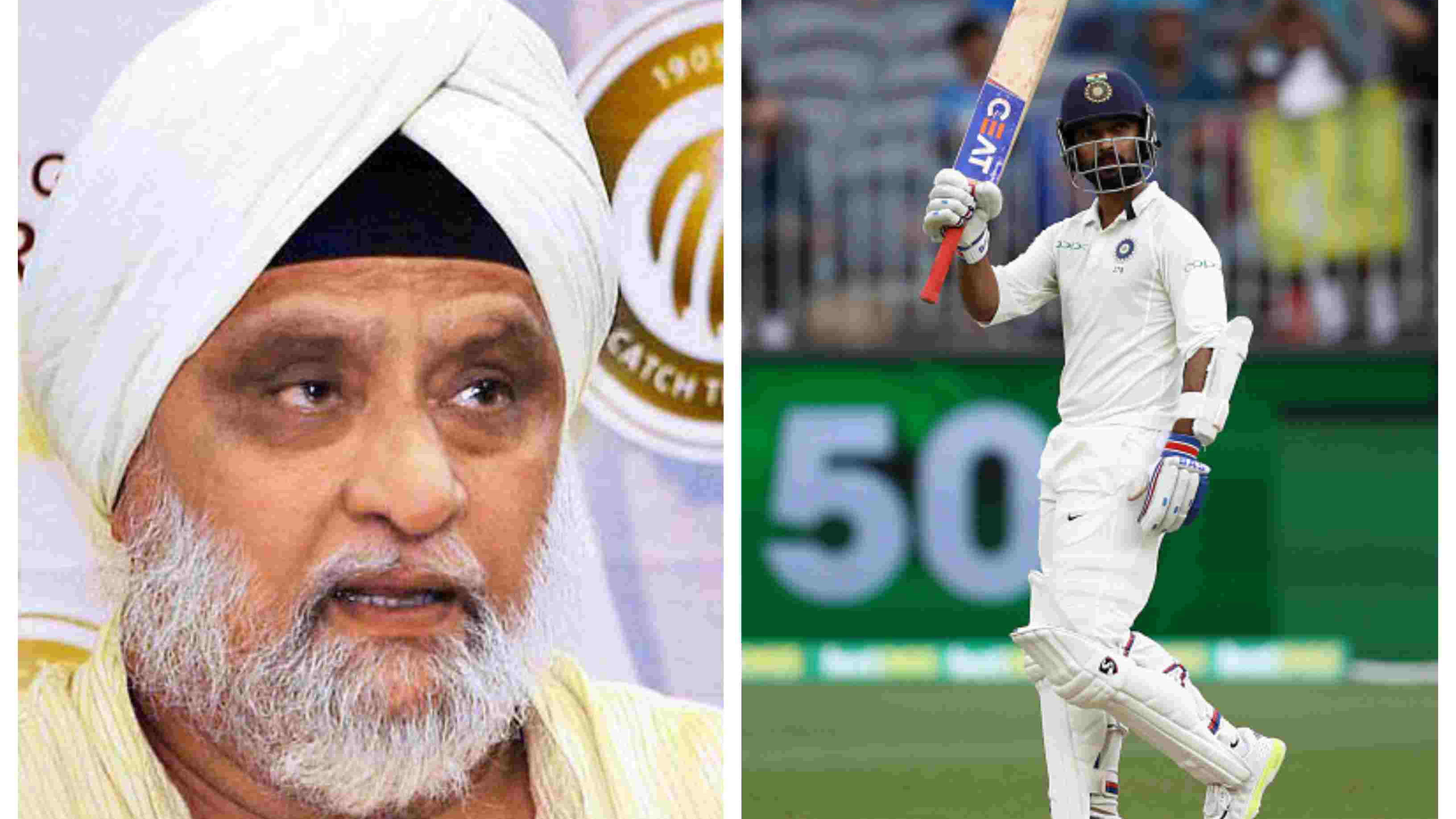 AUS v IND 2018-19: Bishan Singh Bedi impressed with Ajinkya Rahane's attacking fifty in Perth