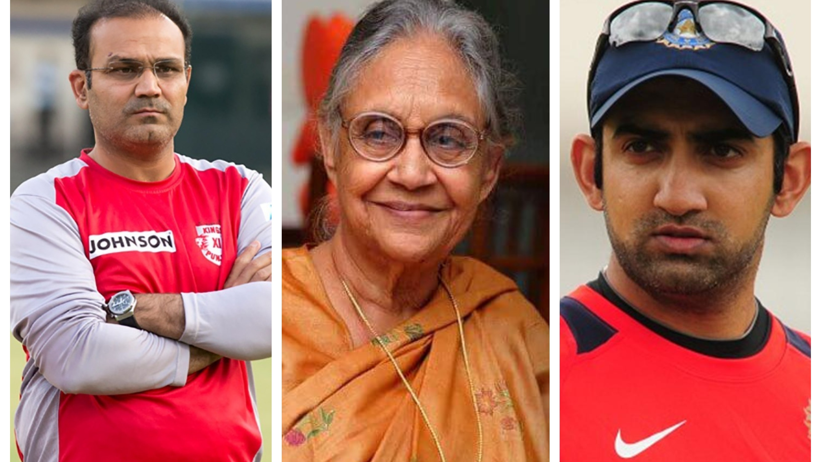Indian cricket fraternity mourns the demise of former Delhi CM Sheila Dikshit