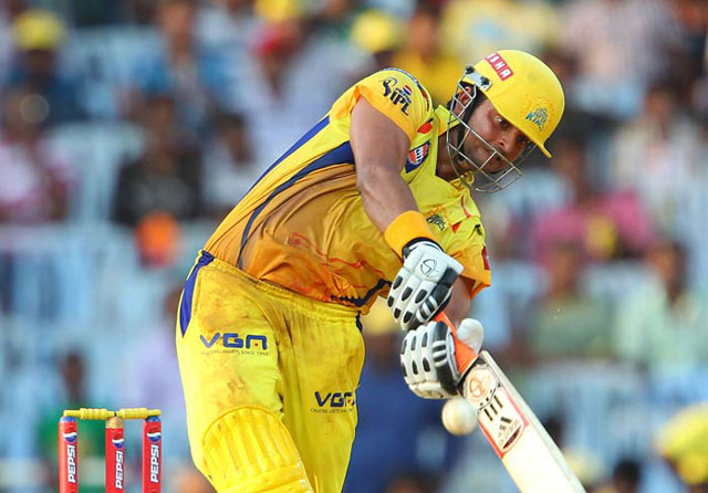 Raina is the all-time leading run-scorer in the IPL with 4540 runs | Getty