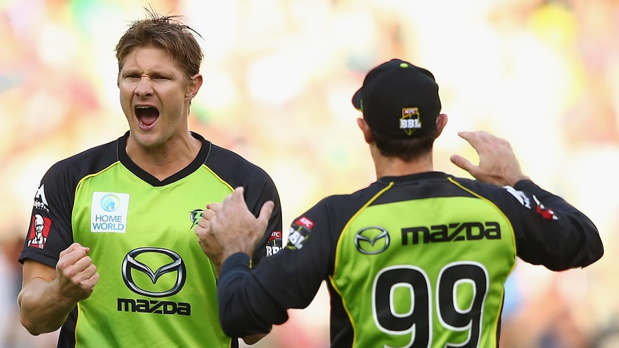 Sydney Thunder re-sign Shane Watson for next two seasons