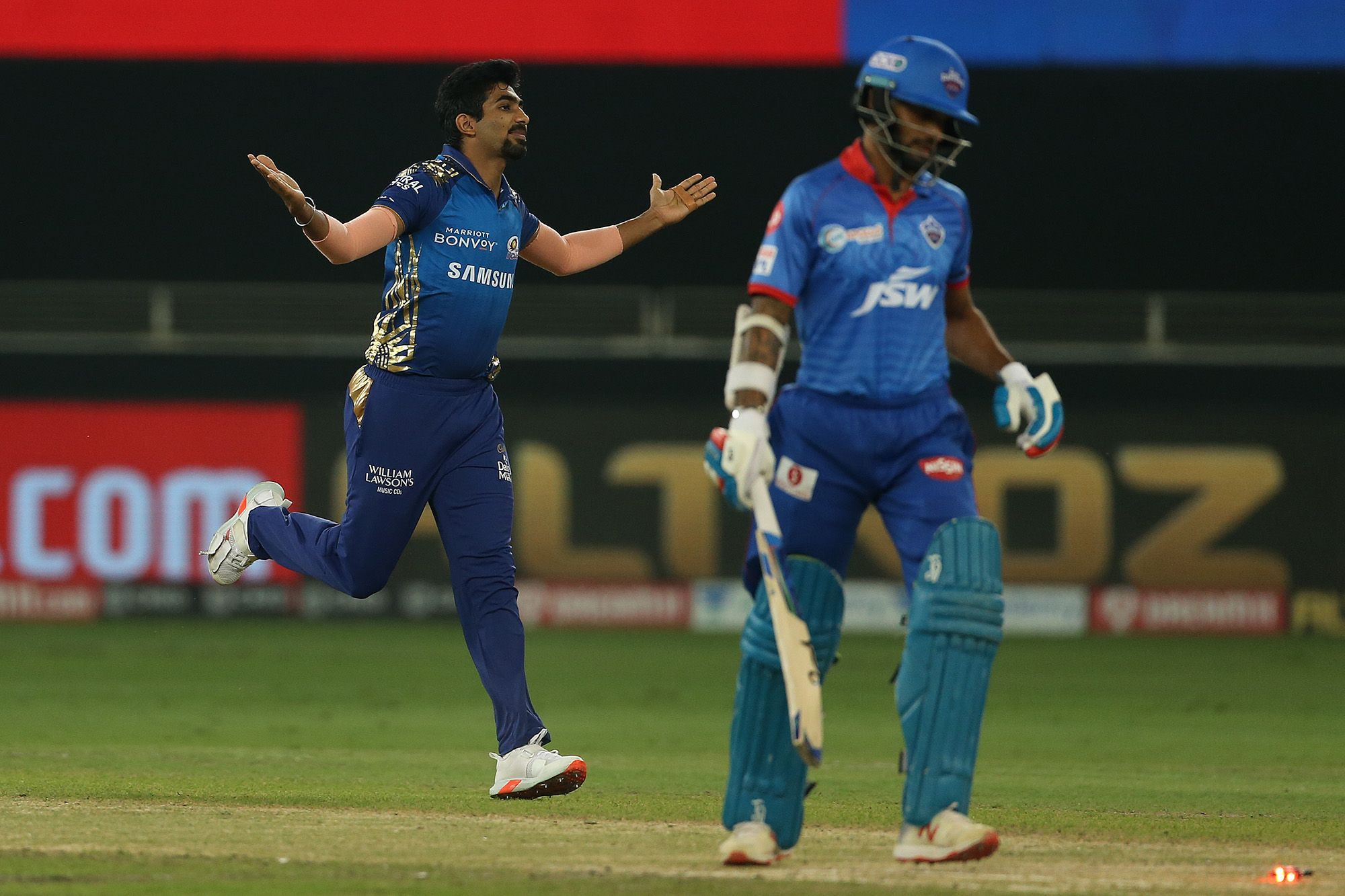 Jasprit Bumrah has taken 27 wickets in this IPL season so far (Photo - BCCI / IPL)