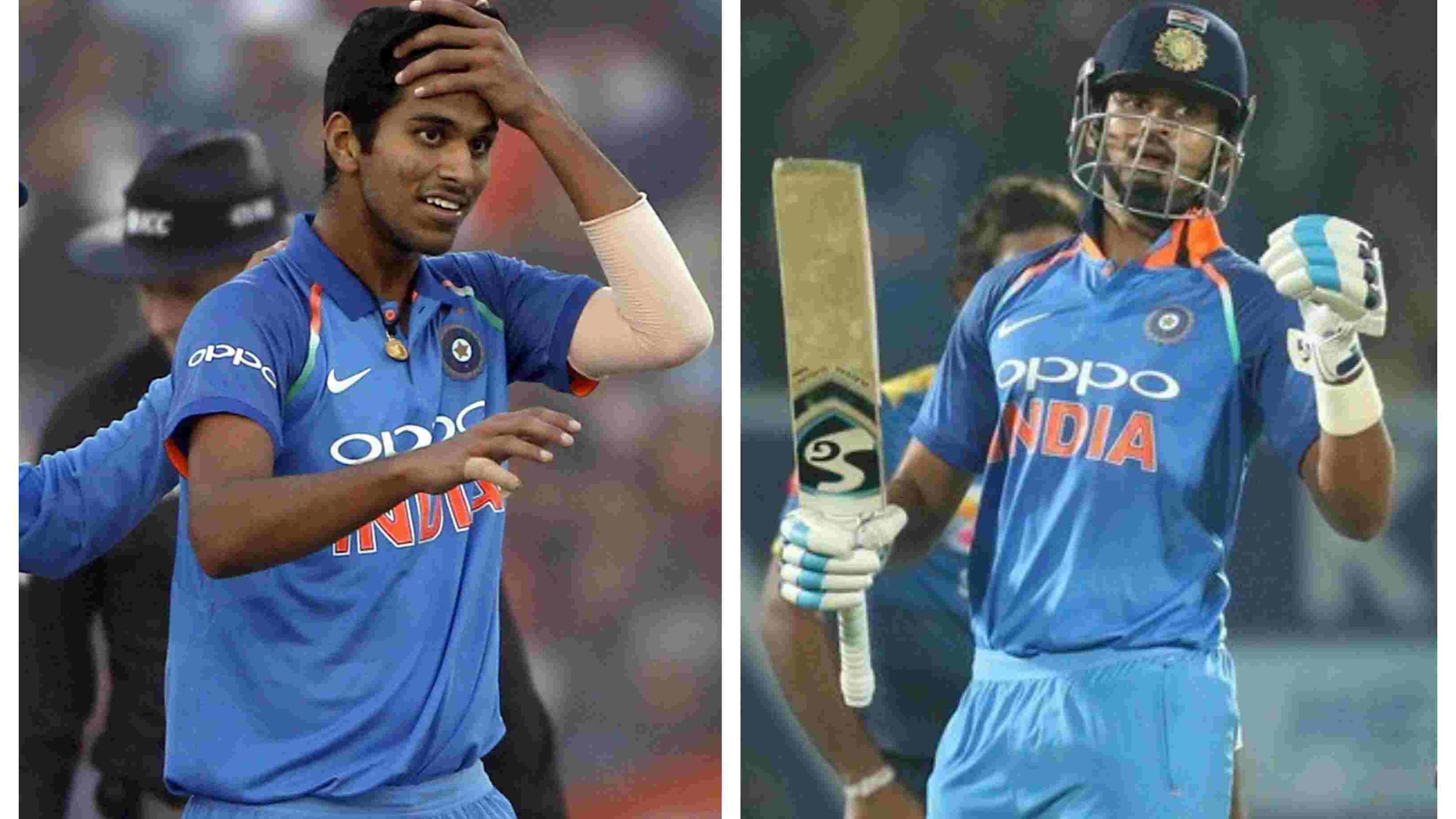 IND v WI 2018: Shreyas Iyer, Washington Sundar likely to play in the third T20I