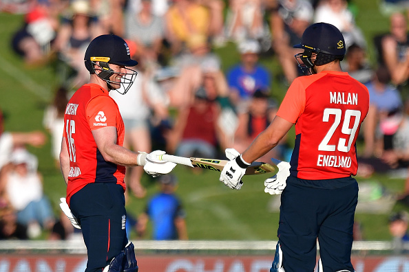 Malan and Morgan added 182 runs for the 3rd wicket | Getty
