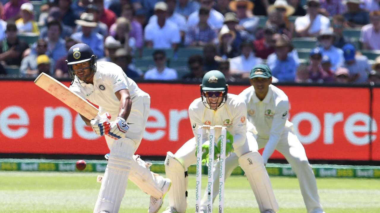 Mayank scored a brilliant half-century in his debut Test against Australia | AFP