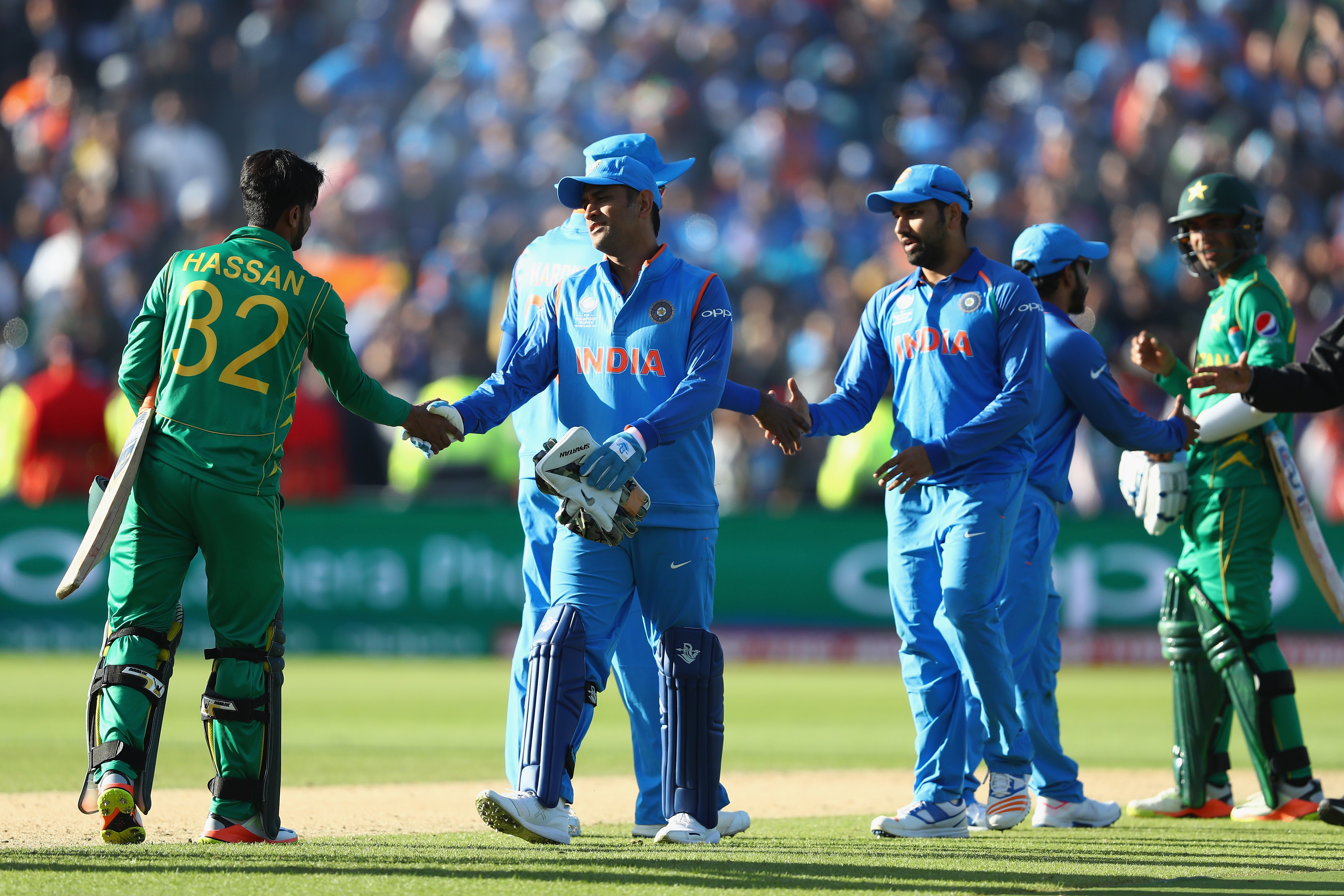 India and Pakistan have played each other in Champions Trophy last time | Getty