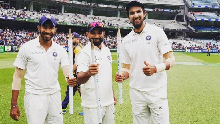 Jasprit Bumrah, Ishant Sharma and Mohammad Shami are certain to carry the pace attack | Twitter