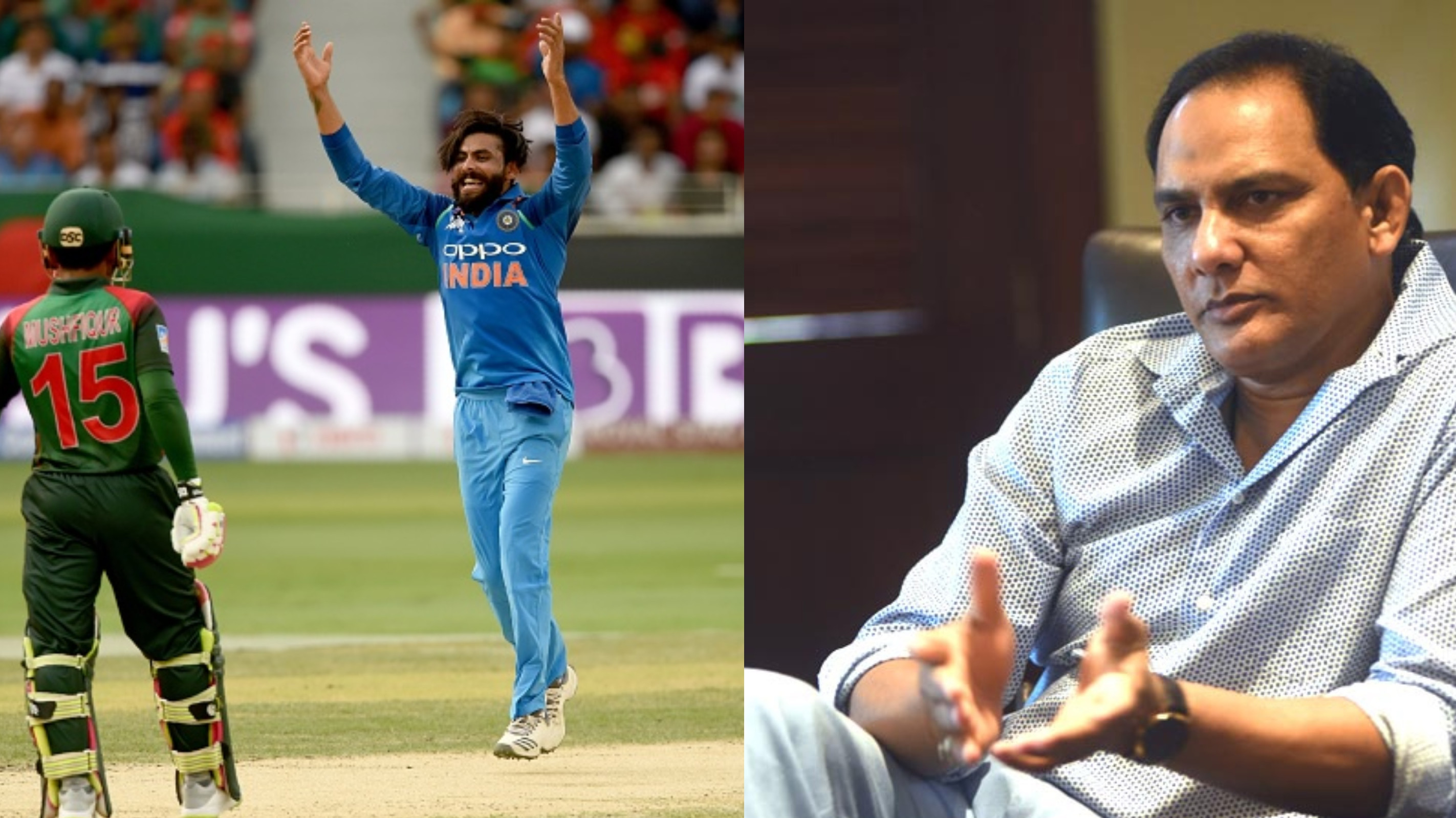 Ravindra Jadeja should not have been dropped, says Mohammad Azharuddin