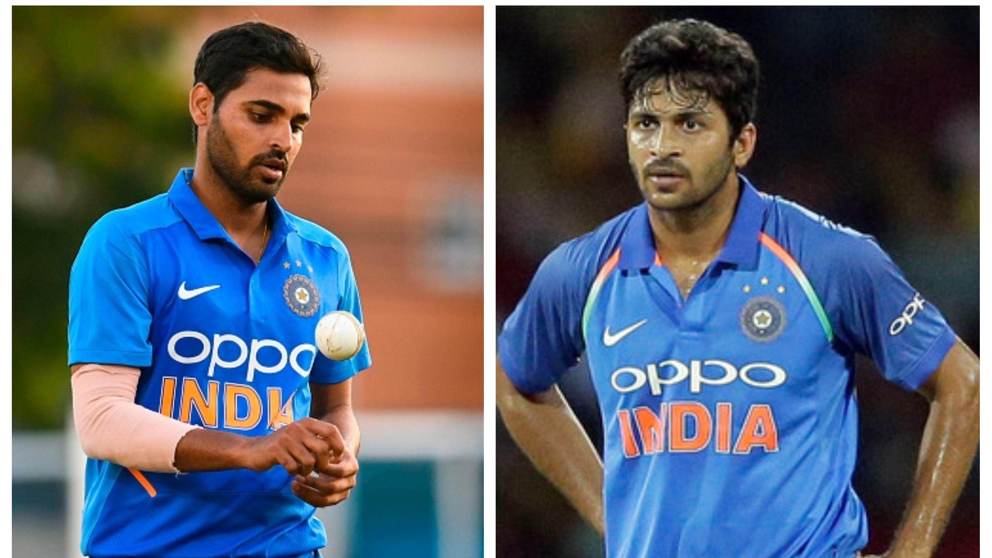 IND v WI 2019: Shardul Thakur replaces injured Bhuvneshwar Kumar for ODI series