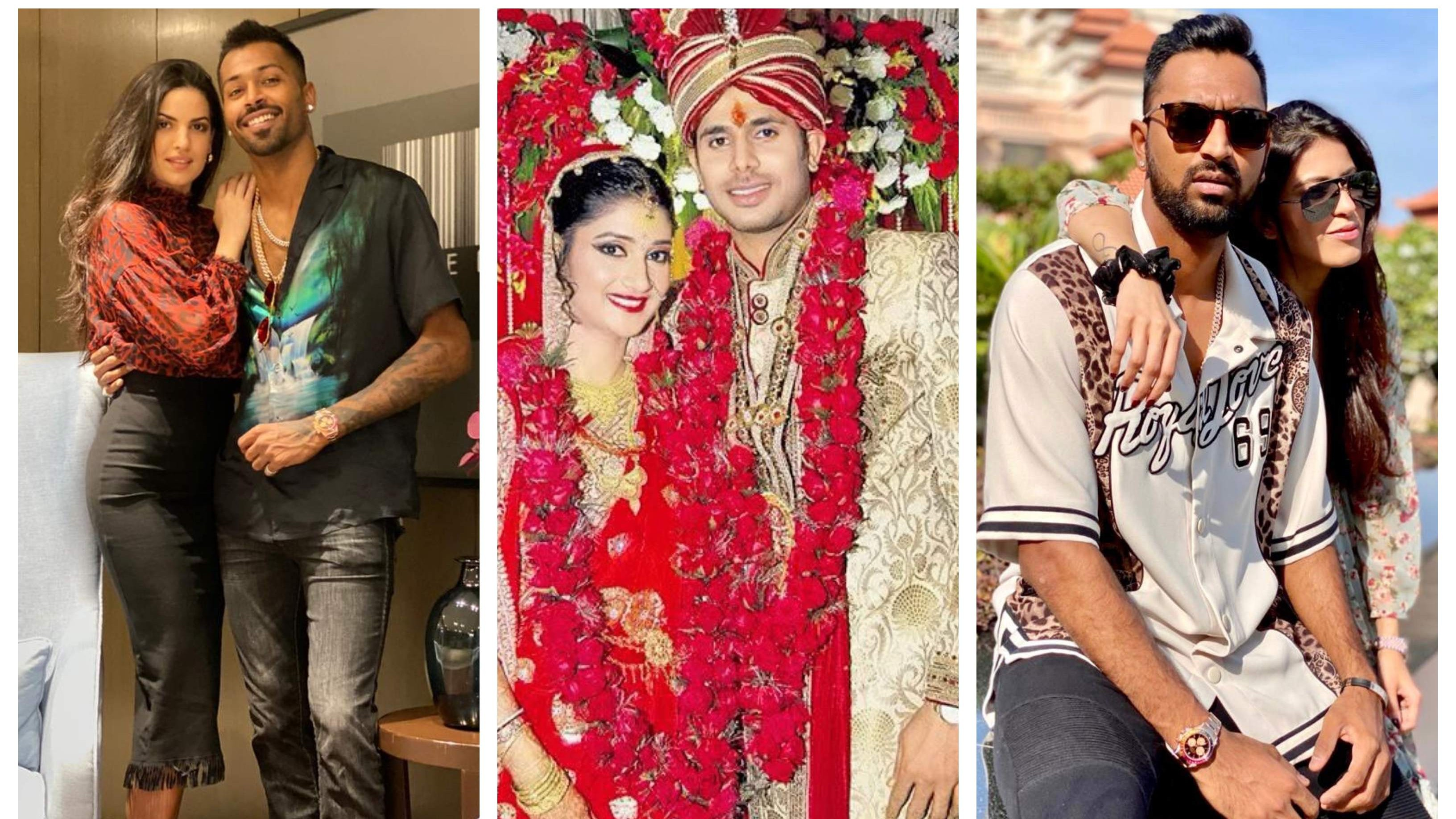 Indian cricketers wish their partners on the occasion of Valentine's Day