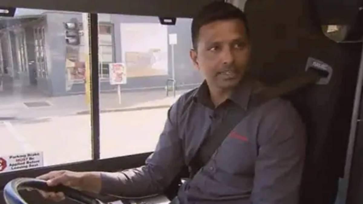 Suraj Randiv now works as a bus driver | Screengrab