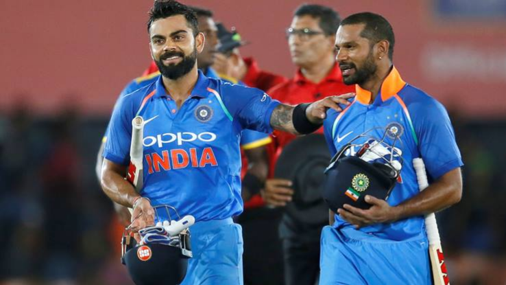 Shikhar Dhawan says he wants Virat Kohli like consistency in his game