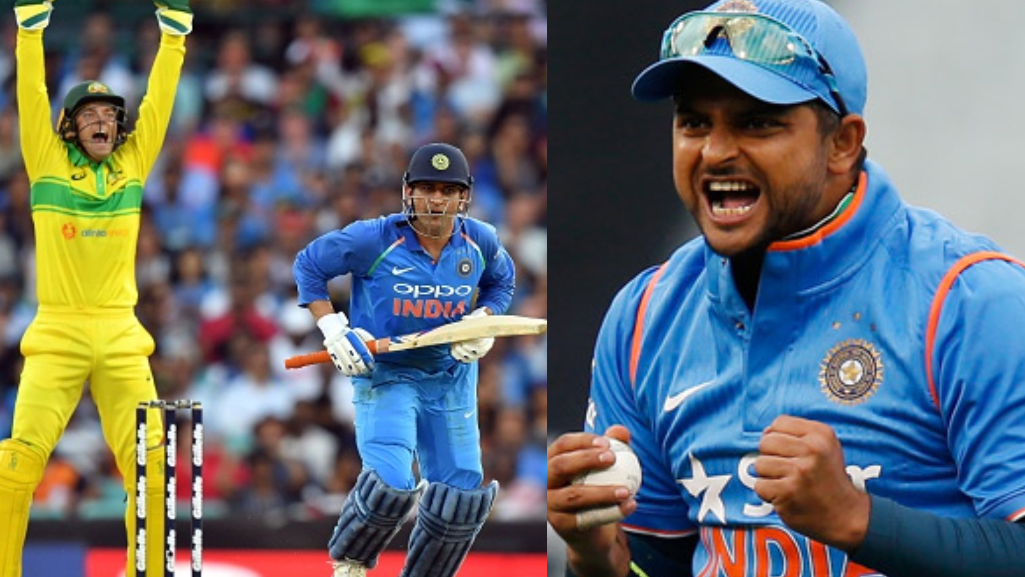 AUS v IND 2018-19: Suresh Raina congratulates MS Dhoni on becoming the fifth batsman to score 10,000 ODI runs for India