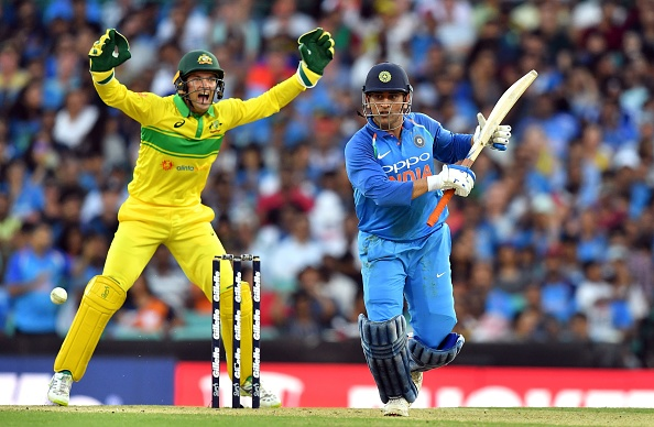 MS Dhoni scored a gritty half-century at the SCG | Getty Images