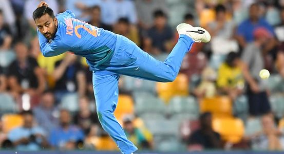 Krunal Pandya went for 55 runs in his four overs  | GETTY
