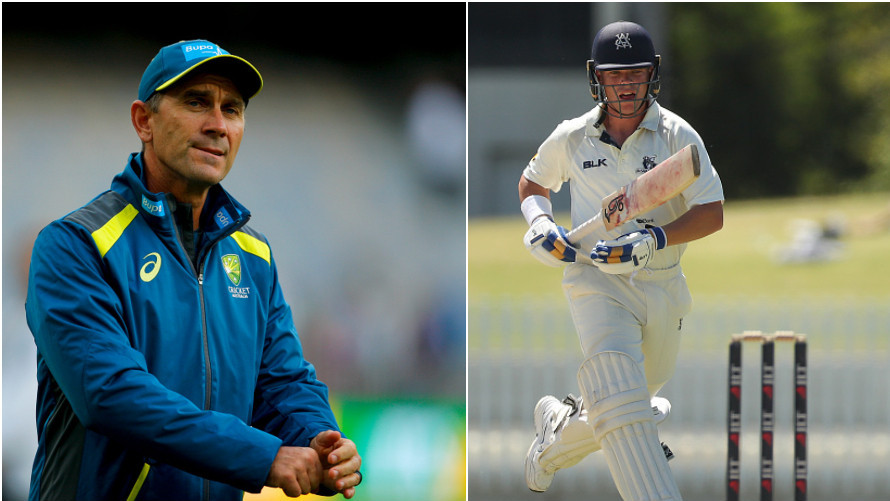 AUS v IND 2018-19: Marcus Harris speaks on his relationship with coach Justin Langer ahead of his Australia debut