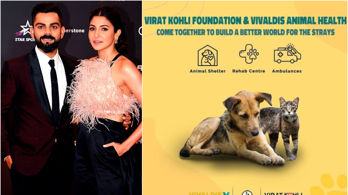 Virat Kohli and Anushka Sharma open two animal shelters in Mumbai