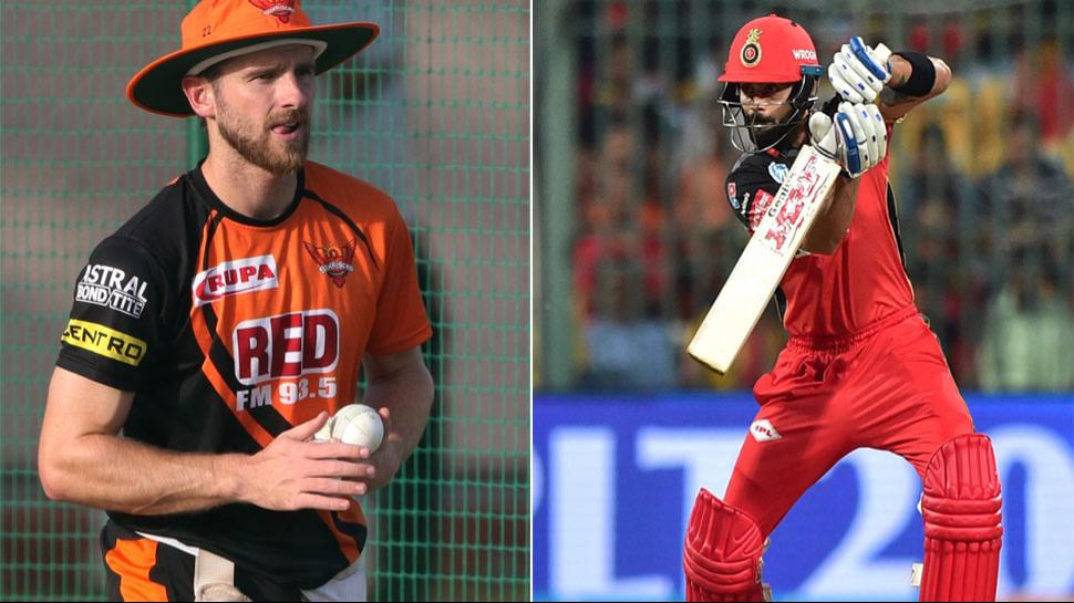 IPL 2018: SRH v RCB- रॉयल चैलेंजर्स बैंगलोर के सामने आज सनराइजर्स हैदराबाद की मजबूत चुनौती