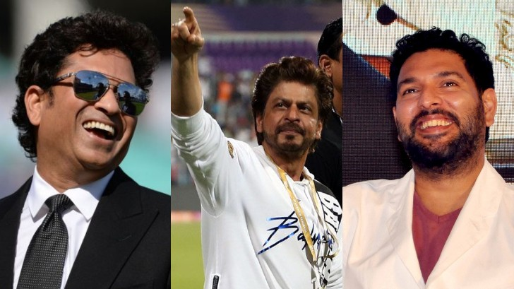 Cricket fraternity wishes Shah Rukh Khan as he turns 55