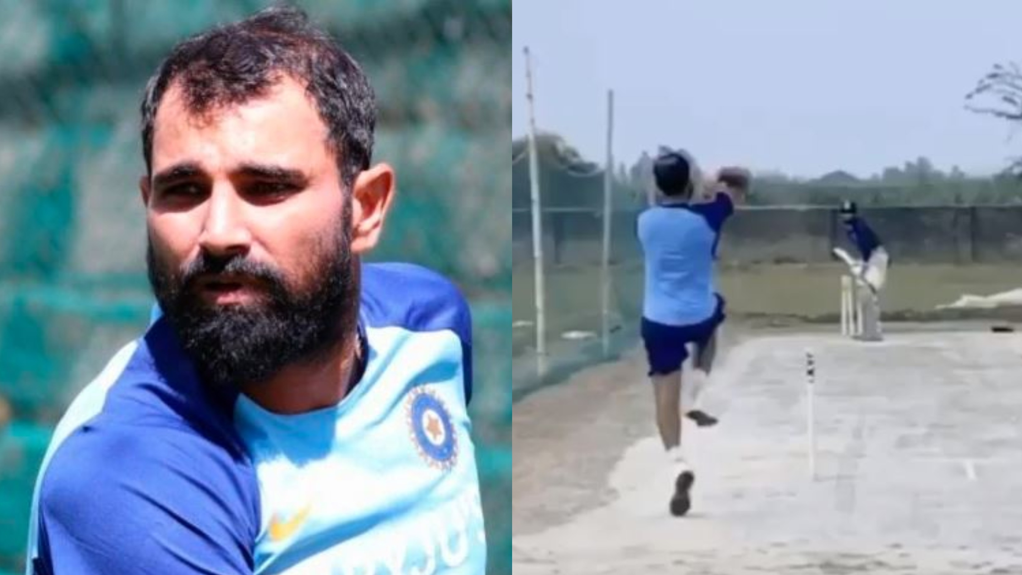 WATCH - Mohammad Shami returns to bowling practice at his farmhouse