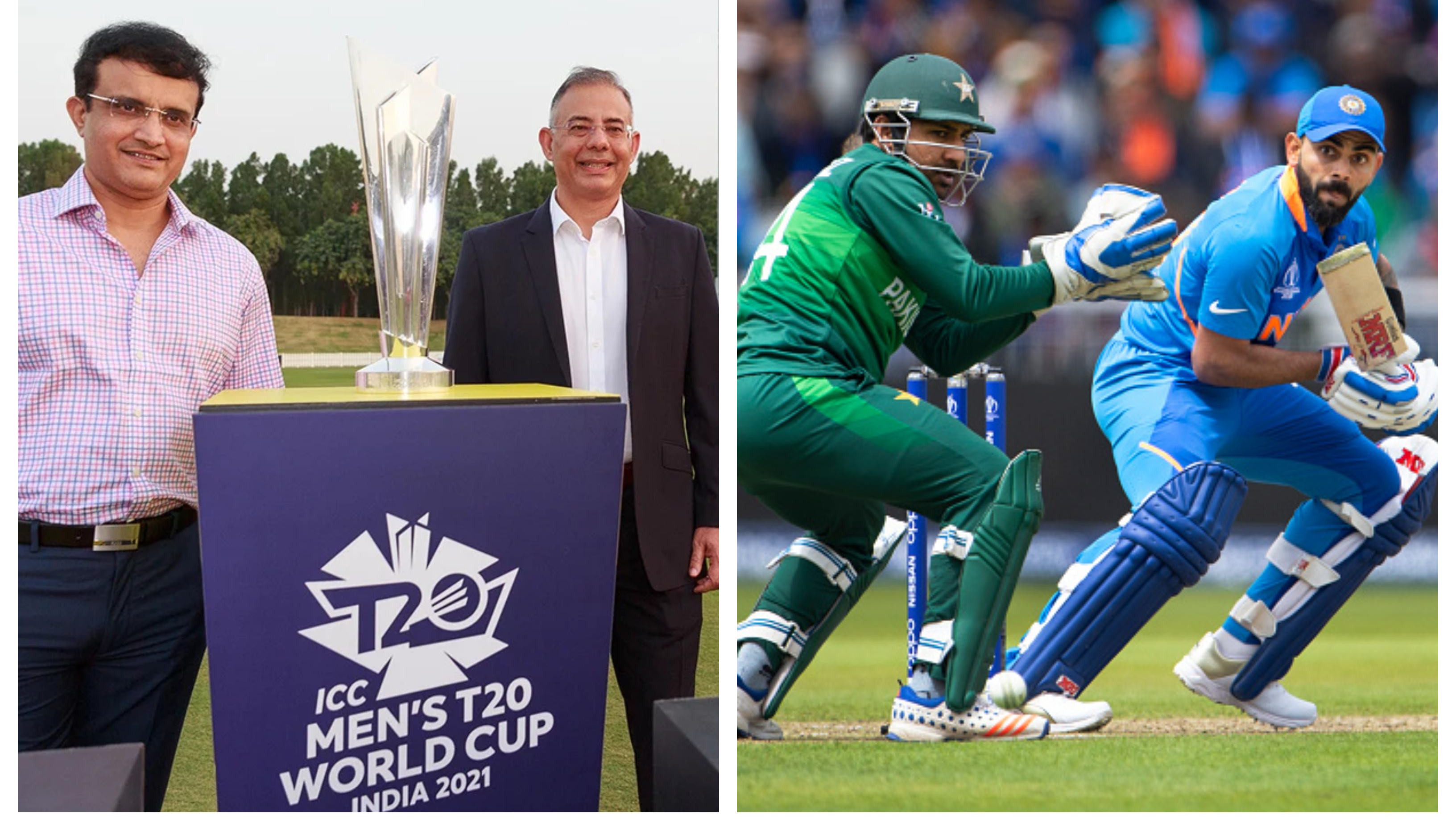 ICC announces T20 World Cup 2021 group draws, India-Pakistan slotted in same group