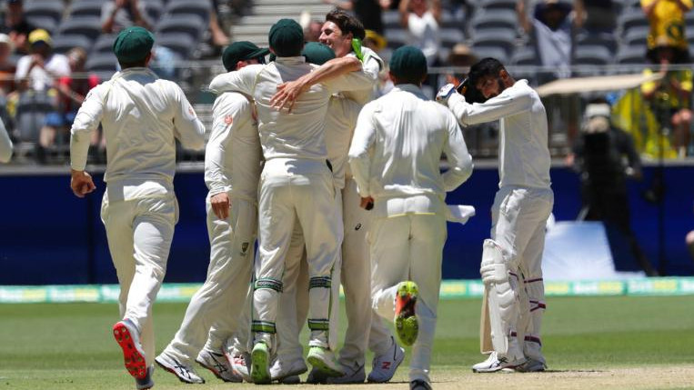 AUS vs IND 2018-19 : Second Test - Statistical Highlights