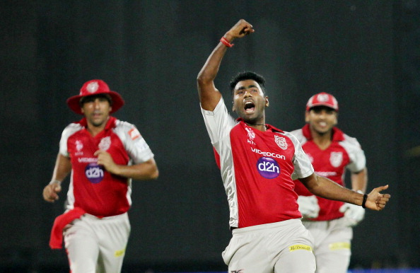 Parvinder Awana during his IPL days for KXIP | Getty