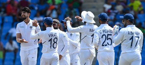 Team India beat West Indies by 318 runs in Jamaica Test | Getty
