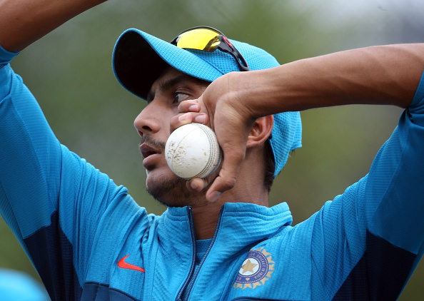 Akshar Patel starred with the ball picking 4/34 | Getty