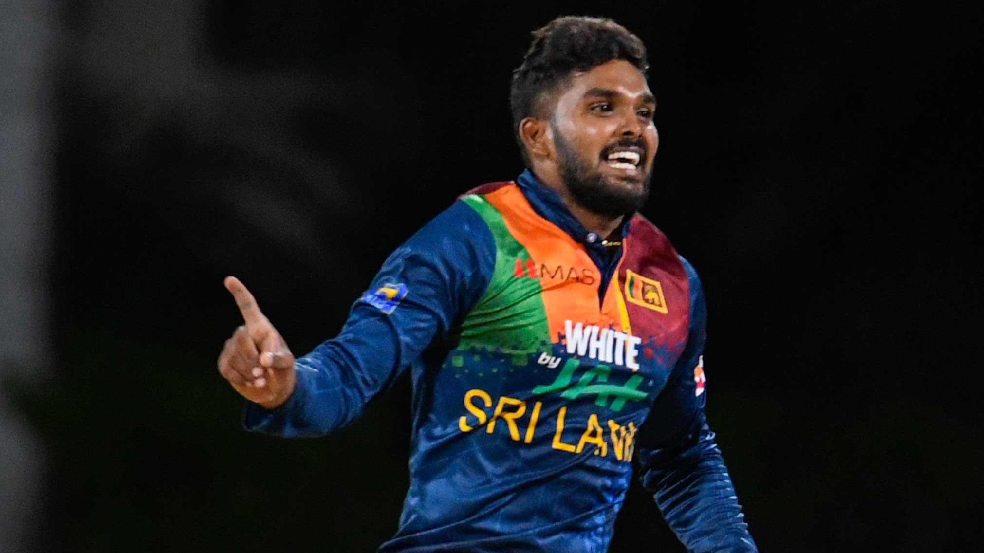 Sri Lanka's Wanindu Hasaranga attains career best 2nd spot in latest ICC T20I bowlers rankings