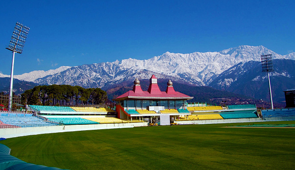 Himachal Pradesh Cricket Association Stadium, Dharamsala | Getty