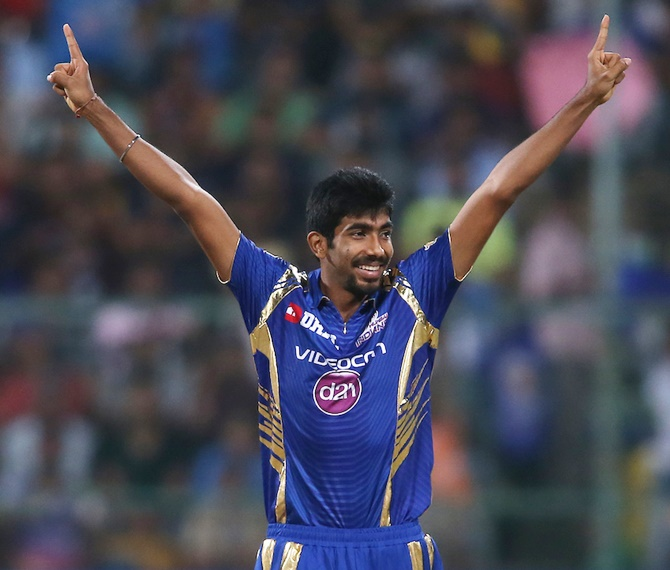 Jasprit Bumrah has been a sensation ever since making his debut in IPL in 2013 | AFP