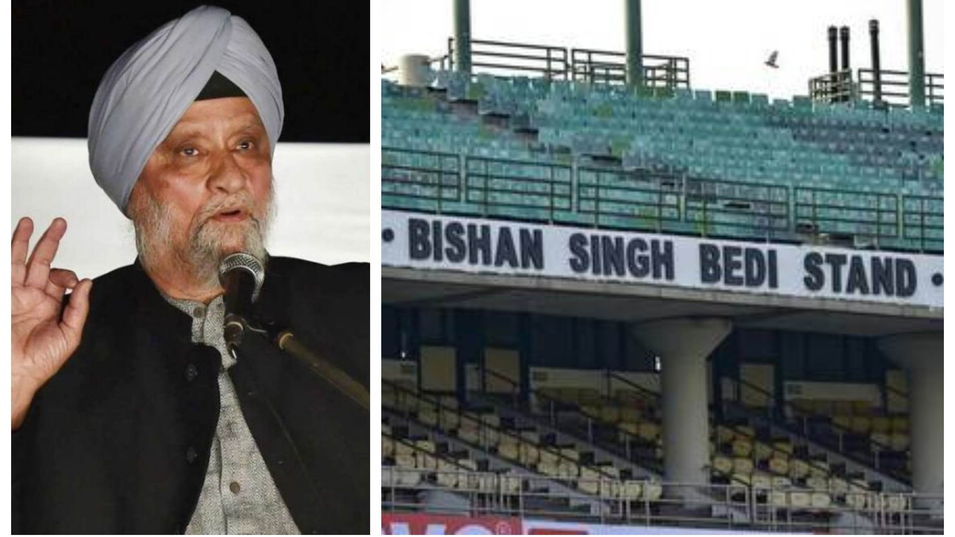 'Don't push me to take a legal recourse', Bishan Singh Bedi warns DDCA to drop his name from stand