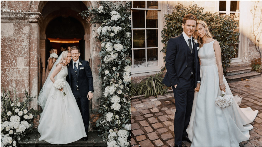 Eoin Morgan ties the knot with his girlfriend, whom he met during 2010 Ashes