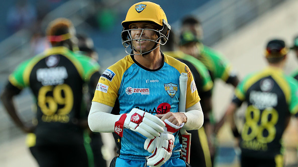 David Warner's struggle continues in the Caribbean Premier League