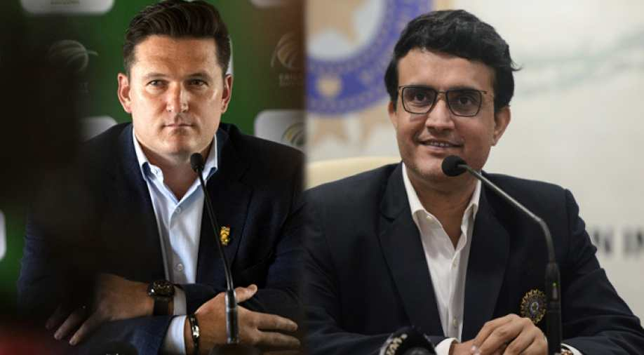 Graeme Smith backed Sourav Ganguly as the next ICC President