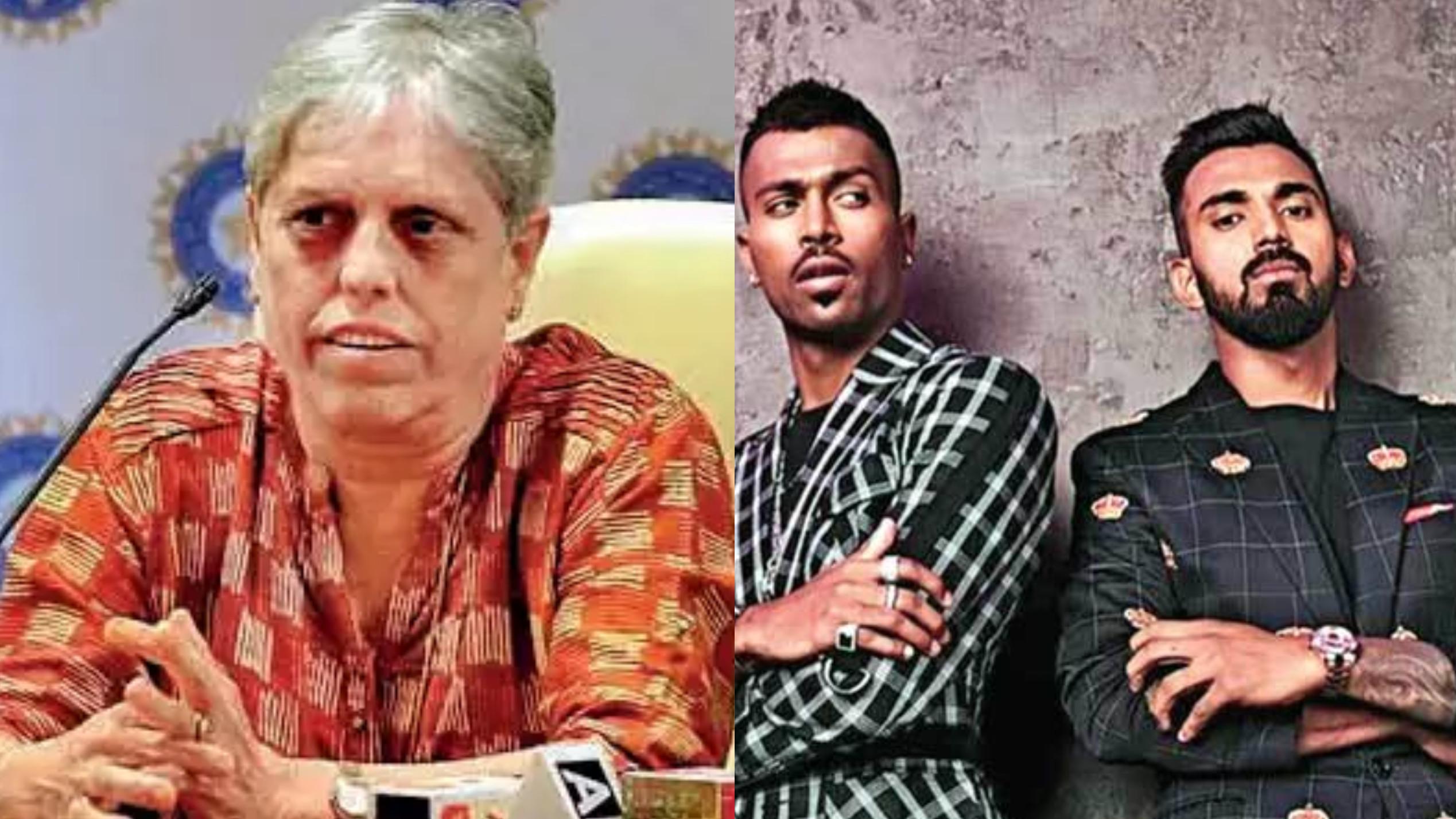 डायना एडुलजी ने हार्दिक पांड्या और केएल राहुल को विश्व कप 2019 से बाहर करने दिए संकेत