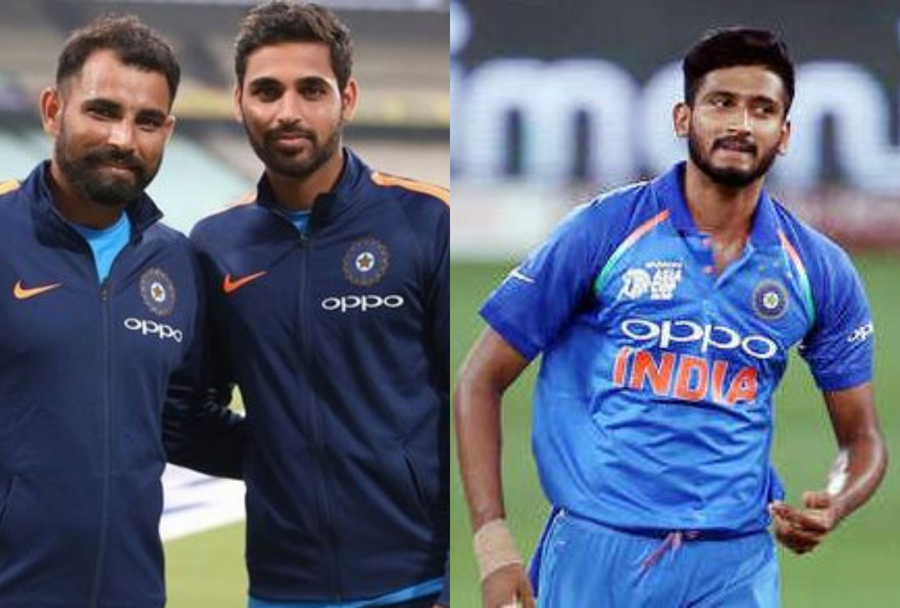 In absence of Bumrah, Bhuvneshwar, Shami and Khaleel might be the best choices for pace attack