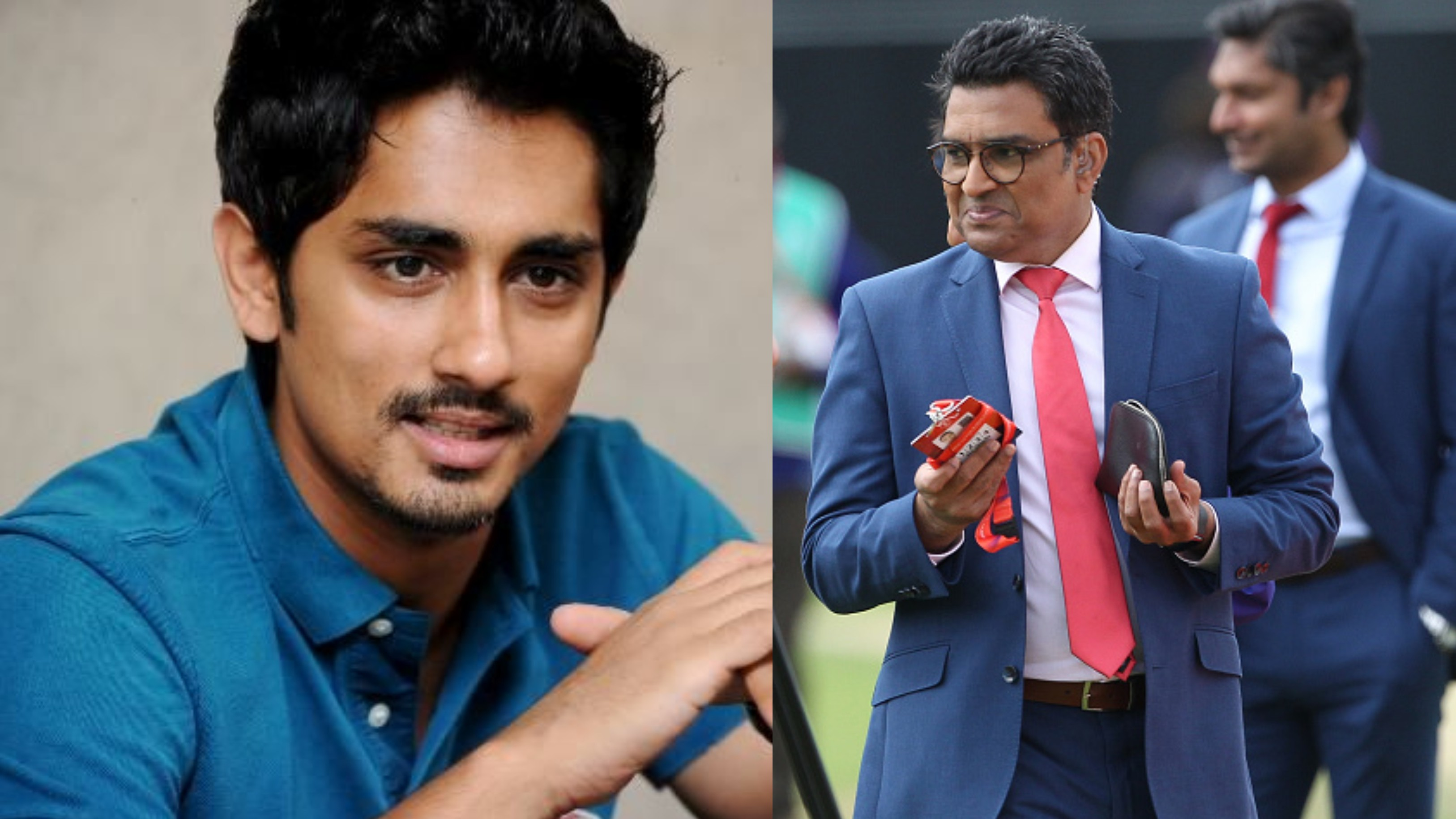 CWC 2019: Siddharth calls Sanjay Manjrekar an 'idiot' over his 'terrible' and 'crass' commentary