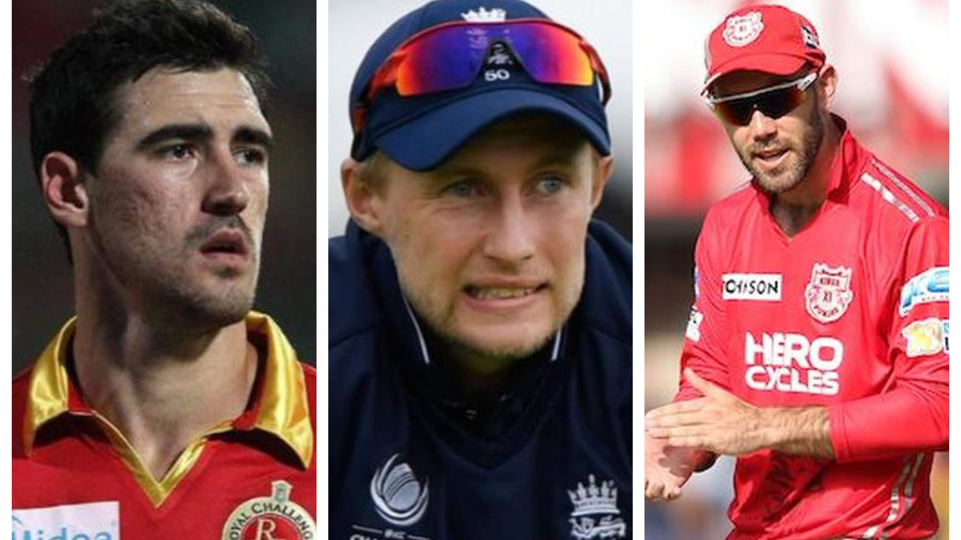 IPL 2020: Mitchell Starc, Joe Root opt out of upcoming IPL; Glenn Maxwell back in auction pool