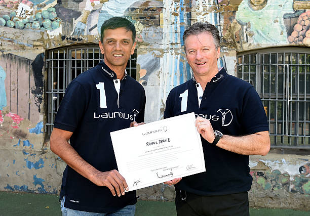 Rahul Dravid- Steve Waugh | Getty