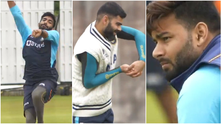 WATCH - Virat Kohli and co take part in first group training session ahead of WTC final