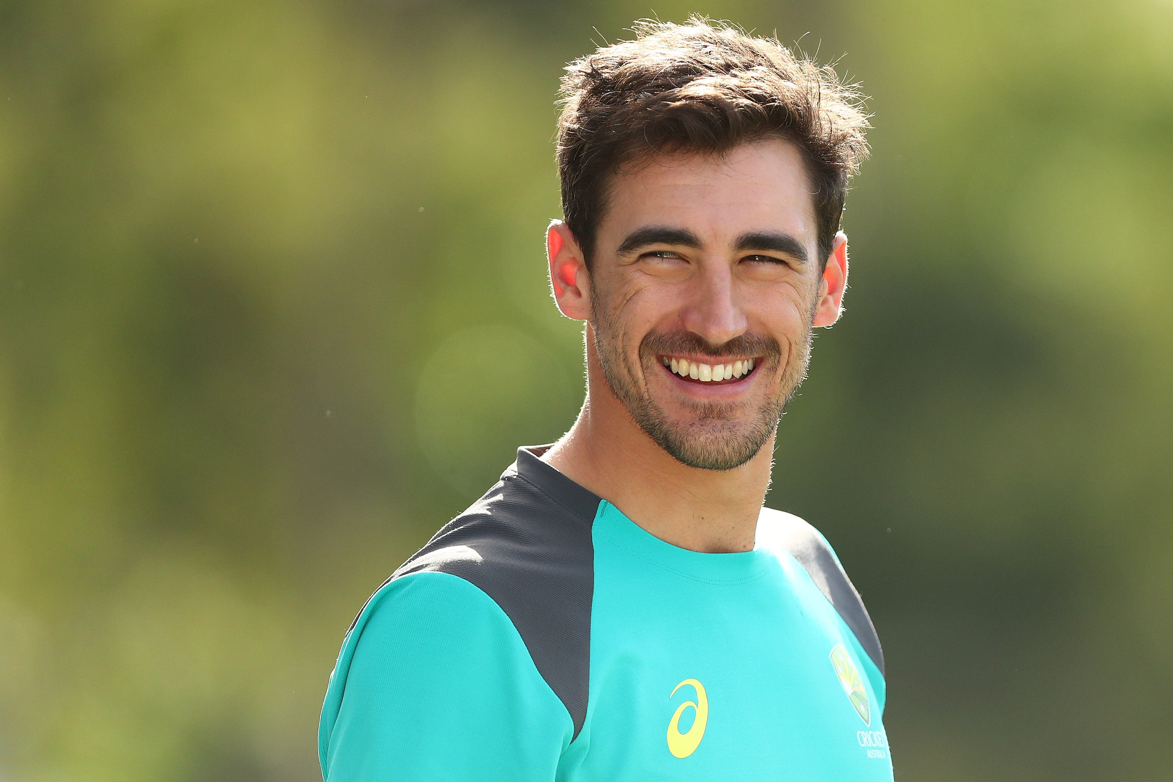 Starc is in a race against time to be fit for the tour of UAE. (Getty)