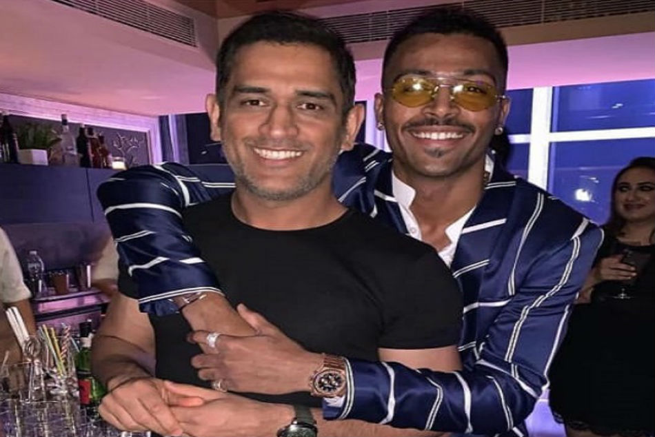 MS Dhoni and Hardik Pandya | Instagram