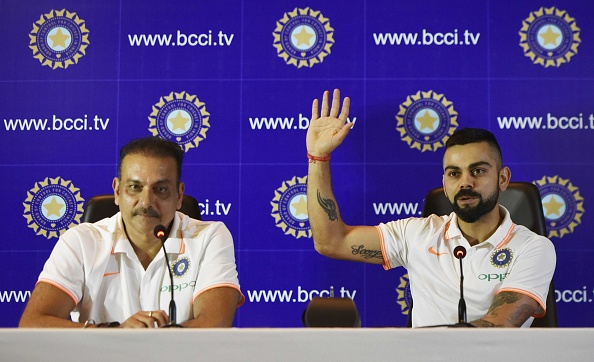 Ravi Shastri, along with Virat Kohli had given many confident statements before the England tour | Getty