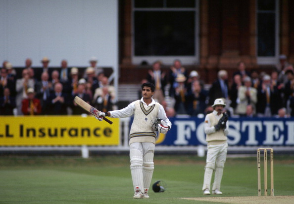 Sourav Ganguly scores a ton on Test debut at Lord's in 1996  | Getty