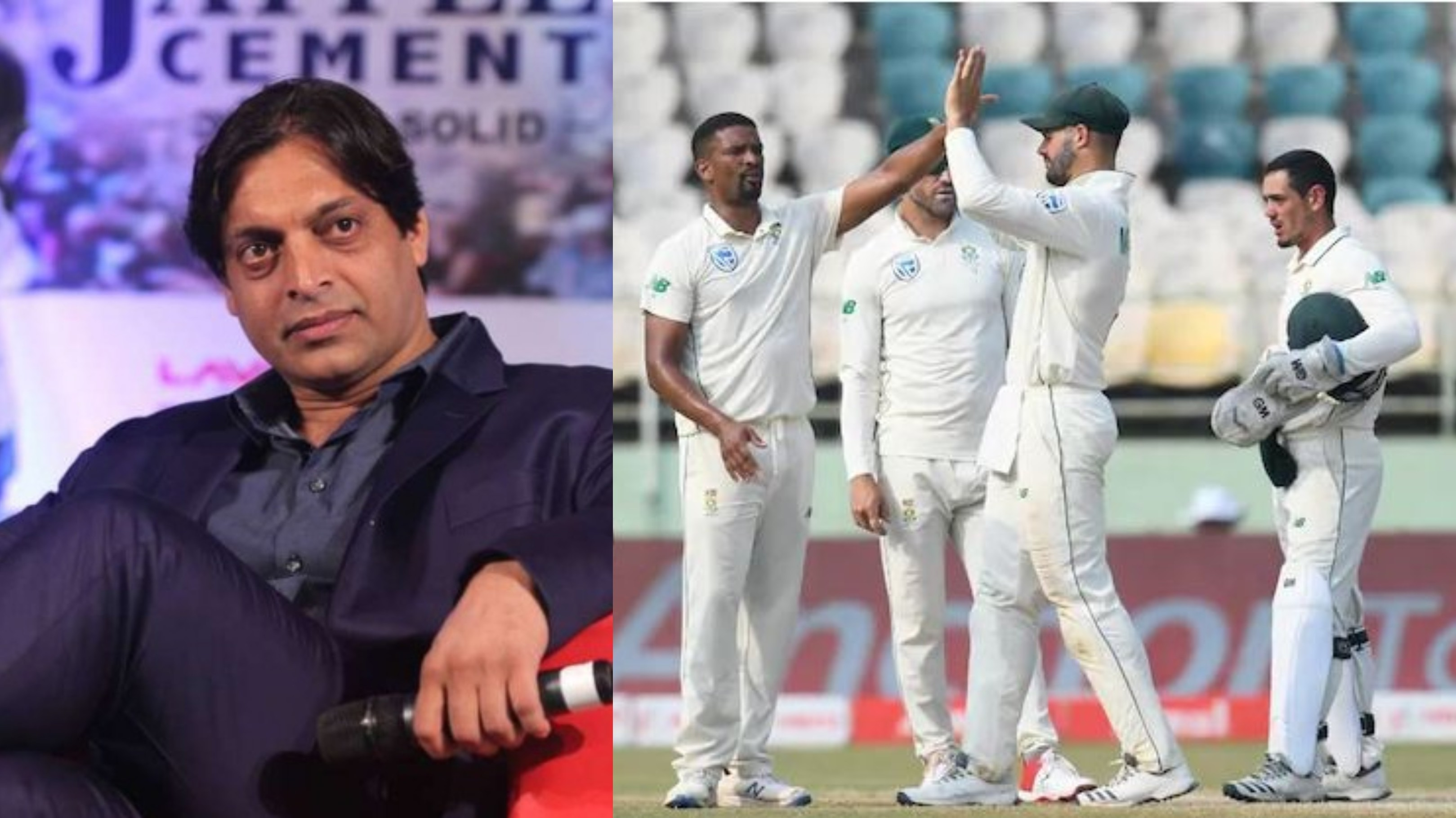 IND v SA 2019: Shoaib Akhtar slams South Africa's dismal performance in Tests against India