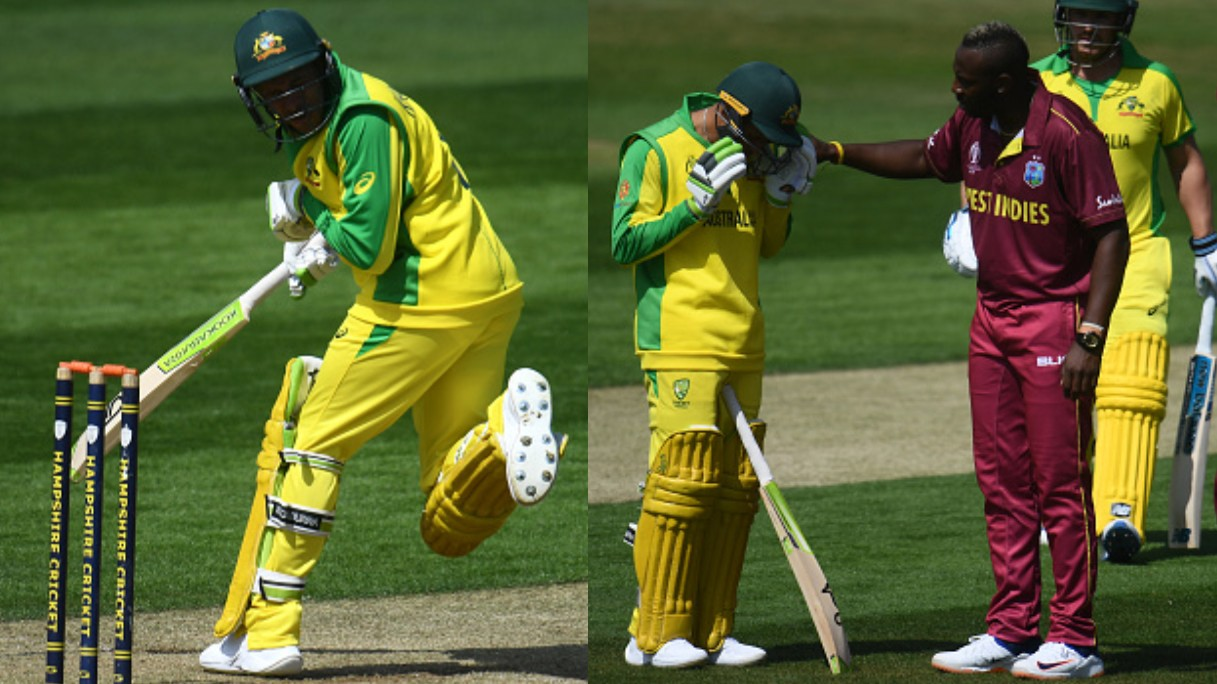 CWC 2019: Usman Khawaja retires after taking a nasty blow on his jaw in warm-up match